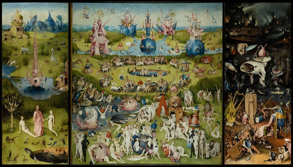 1100px The Garden of Earthly Delights by Bosch High Resolution