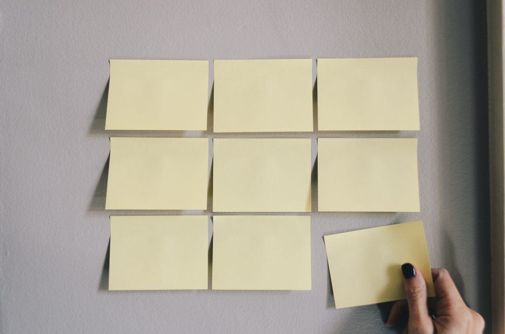 Sticky Notes - Photo by Kelly Sikkema on Unsplash