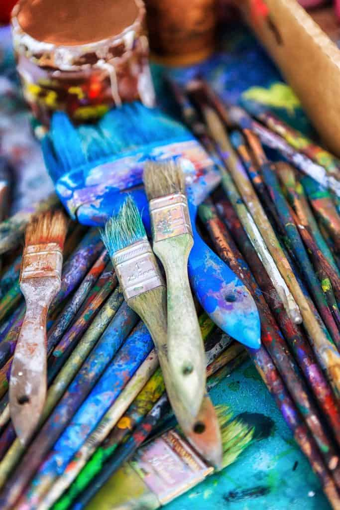 Artist Brushes - Photo by thom masat on Unsplash