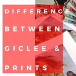 Difference between a Giclee and a Print