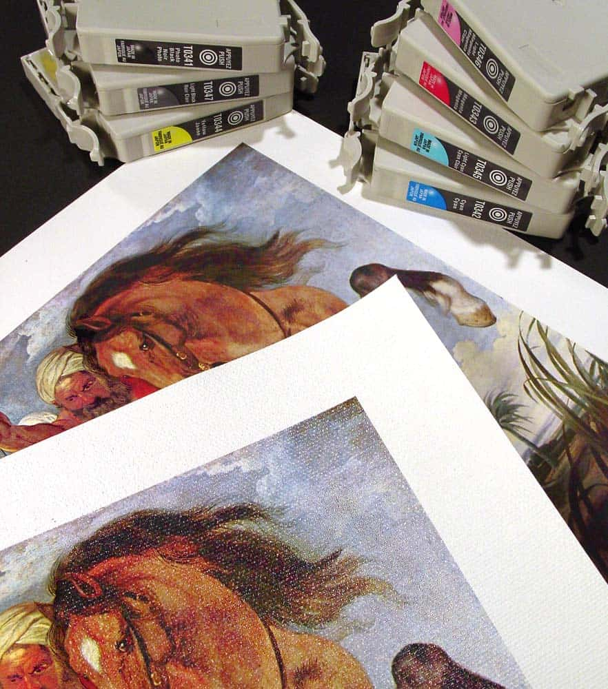 Difference between Giclee and a Print