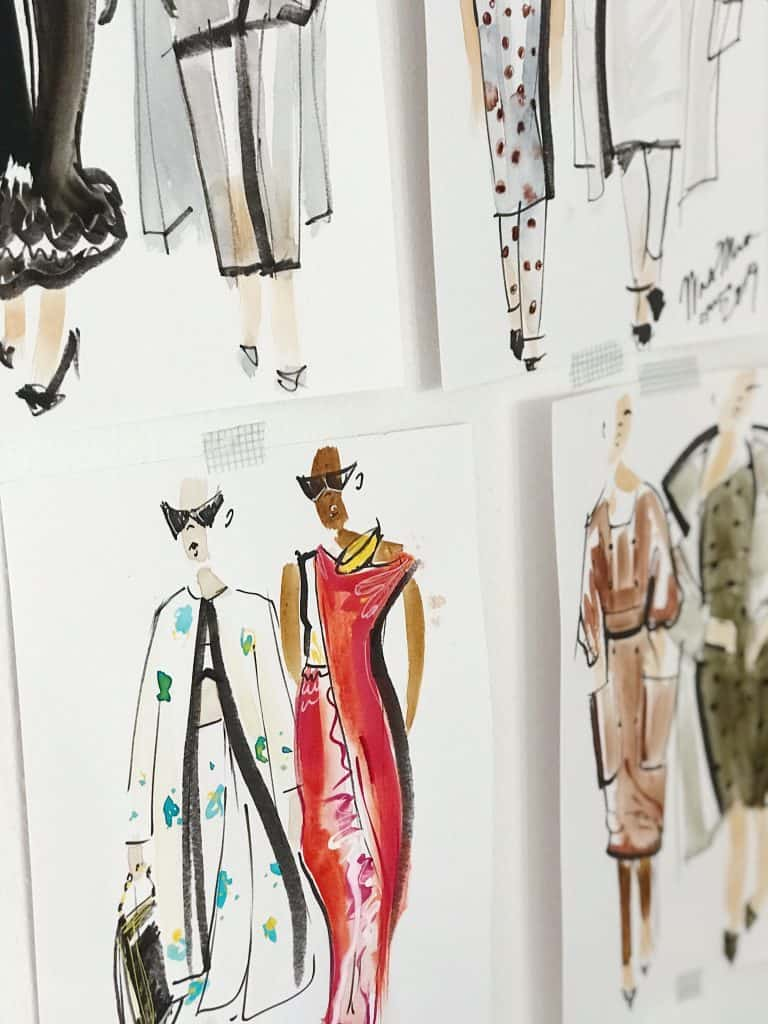 Fashion Designer Sketch - Photo by Charlota Blunarova (unsplash.com)