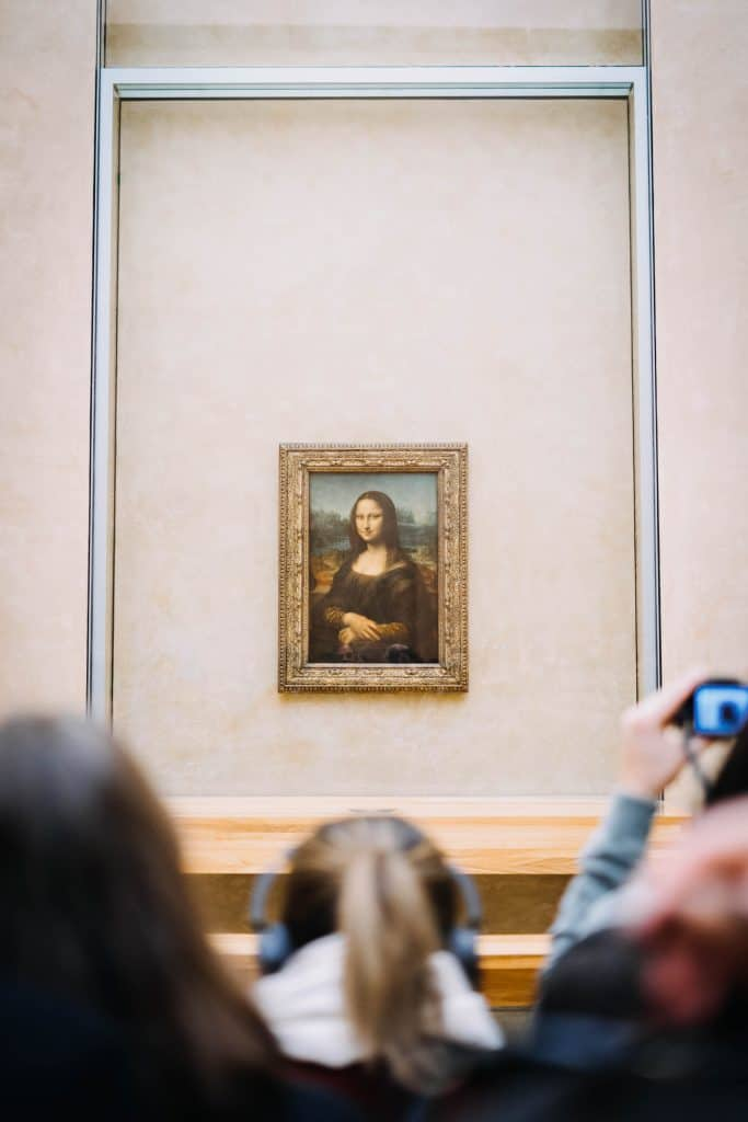 Louvre Mona Lisa aka La Gioconda - Photo by Zach Dyson (Unsplash)