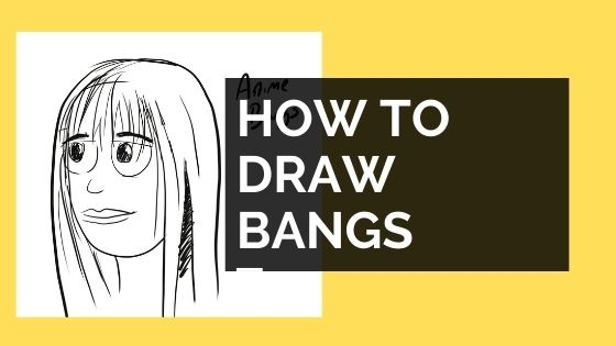 How to draw bangs