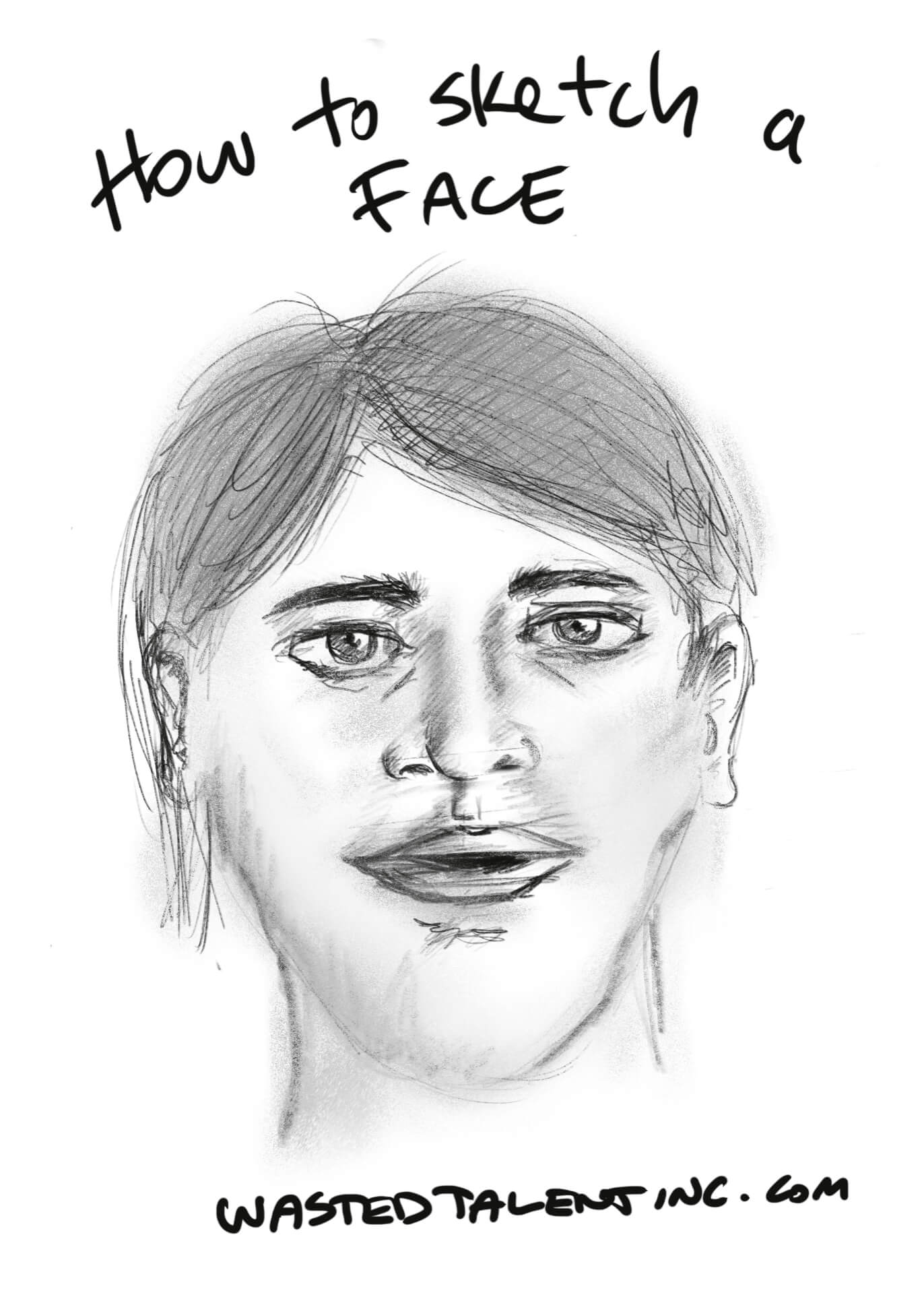 How to Sketch a Face - Final