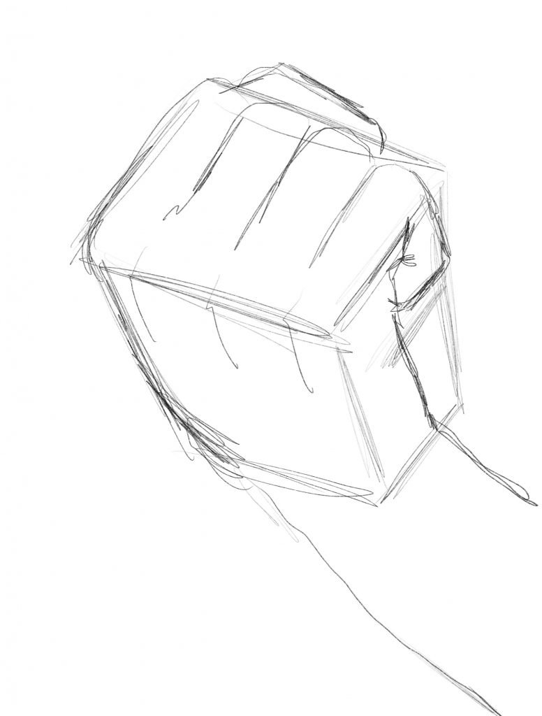 anime clenched fist initial outline