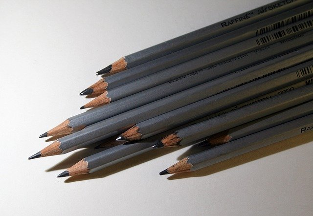 Drawing Pencils and Erasers