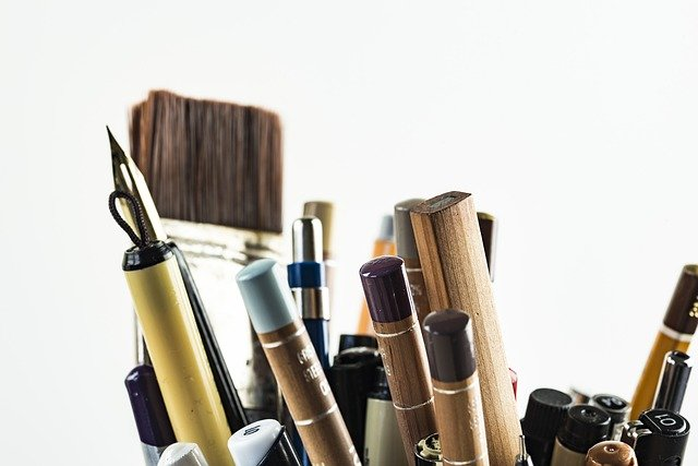 pen and ink drawing materials